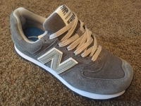Кроссовки New Balance 574 Dr.Grey Lt.Grey